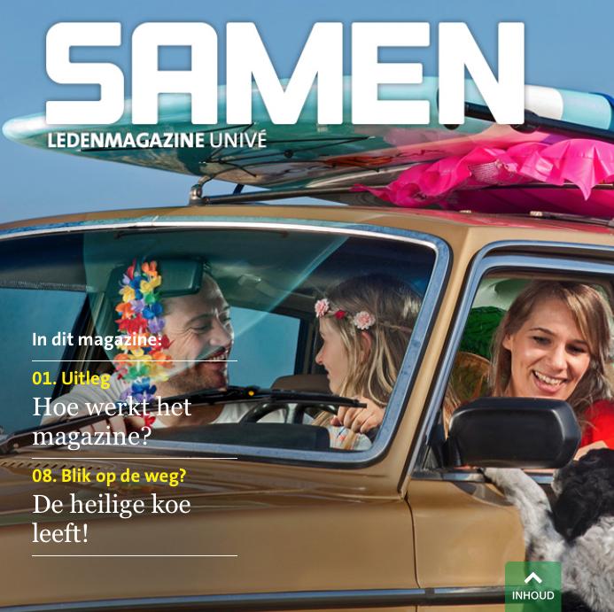 Voorjaar 2016: de nieuwe editie van Samen, met natuurreportages en o.m artikel over Foppe de Haan van mijn hand